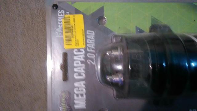 Sub woofer bravox E2k 12 polegada mais mega capacitor