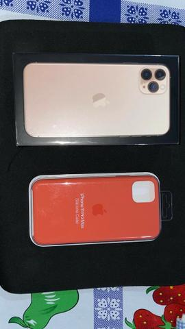 Iphone 11 pro max 64gb com case de silicone - Foto 3