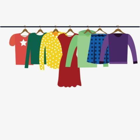 Brecho Lote de Roupas - Vestidos - Calças - Blusas - Inverno e Verão - Foto 2