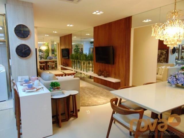 Apartamento à venda com 3 dormitórios em Setor pedro ludovico, Goiânia cod:NOV91510