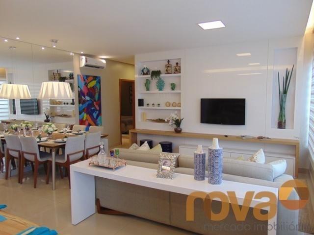 Apartamento à venda com 3 dormitórios em Residencial eldorado, Goiânia cod:NOV235562