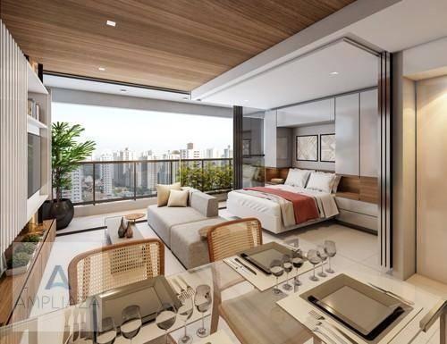 Apartamento com 2 dormitórios à venda, 37 m² por r$ 321.000 - aldeota - fortaleza/ce - Foto 7