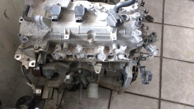 Motor parcial Nissan march 1.6 2014/15- 16 válvula usado original - Foto 3