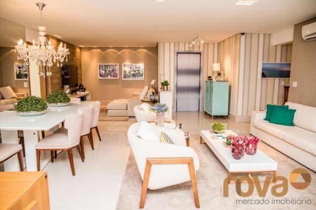 Apartamento à venda com 3 dormitórios em Setor bueno, Goiânia cod:NOV235442 - Foto 4