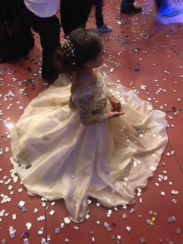 Vestido infantil de formatura - Foto 2