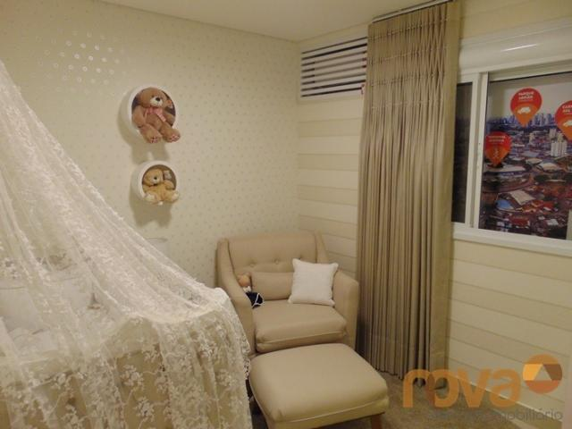 Apartamento à venda com 3 dormitórios em Setor pedro ludovico, Goiânia cod:NOV91510 - Foto 9