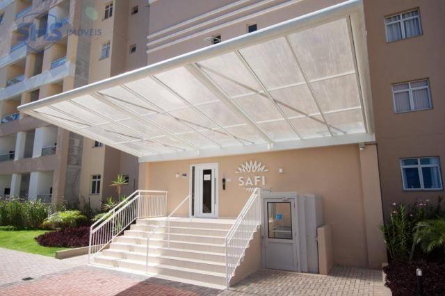 Apartamento com 2 dormitórios para alugar, 56 m² por r$ 1.400/mês - fortaleza - blumenau/s
