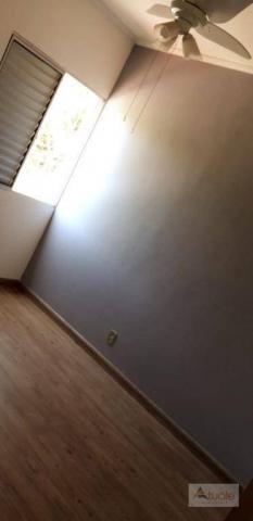 Apartamento com 3 dormitórios para alugar, 65 m² - parque euclides miranda - sumaré/sp - Foto 13