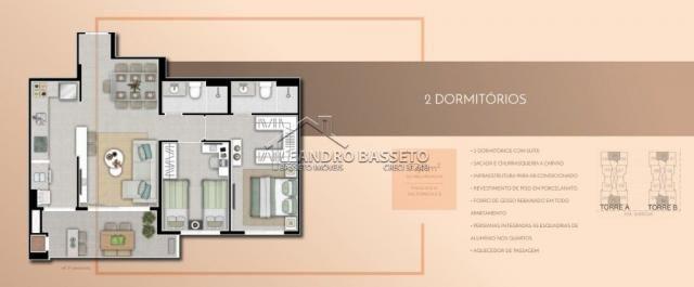 Apartamento à venda com 2 dormitórios em Monte verde, Florianópolis cod:1900 - Foto 3