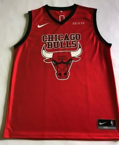 Regata Chicago Bulls Vermelha- Treino - Foto 2