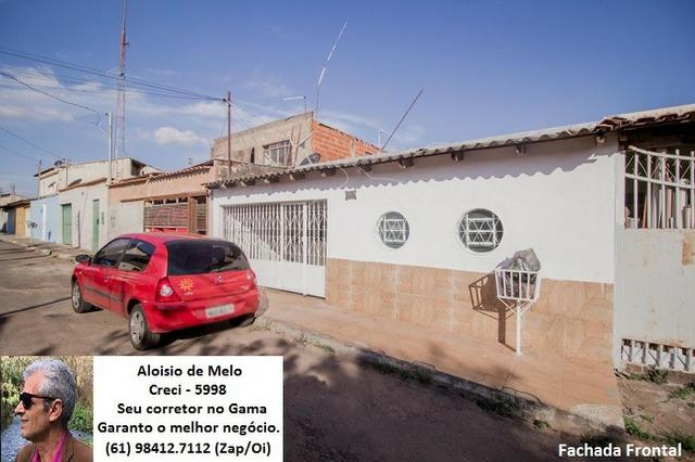 Aloisio Melo Vde: Q. 33 S/Leste, 2 Casas; Sala, Cozinha, 3 Qtos, Ac. Financiamento/FGTS