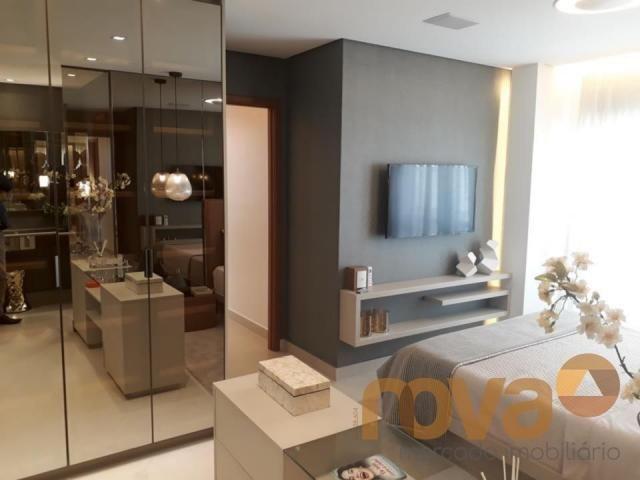 Apartamento à venda com 3 dormitórios em Setor marista, Goiânia cod:NOV89112 - Foto 12