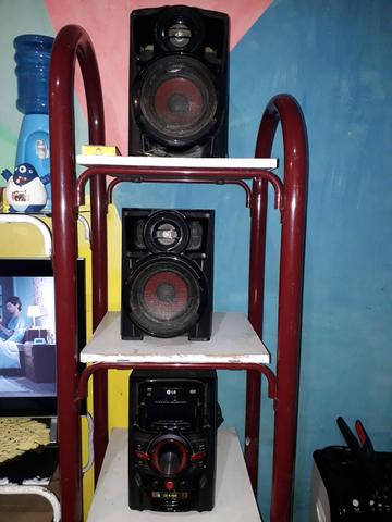 Vendo um mini hi-fi system LG ( para retirada de peças) - Foto 4