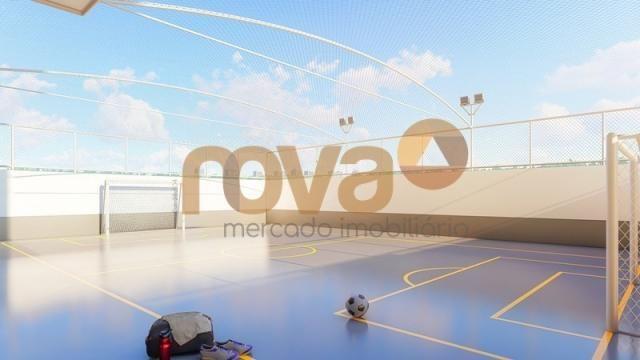 Apartamento à venda com 2 dormitórios em Setor negrão de lima, Goiânia cod:NOV235693 - Foto 12