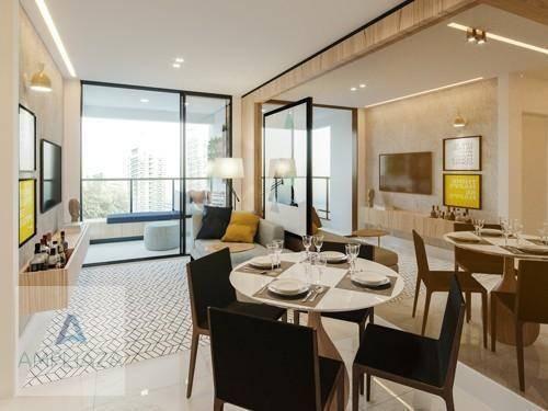Apartamento com 2 dormitórios à venda, 37 m² por r$ 321.000 - aldeota - fortaleza/ce - Foto 8