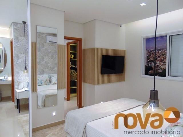 Apartamento à venda com 3 dormitórios em Setor bueno, Goiânia cod:NOV235464 - Foto 15