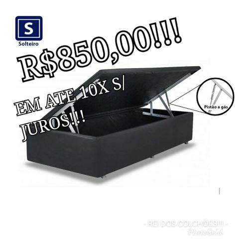 Black friday!!!box bau ortobom solteiro!!!