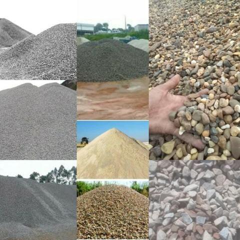 Ligue Faça seu Orçamento Areia seixo Brita Barro Pedra Rachão