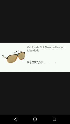 Óculos de sol unissex absurda (preto) - Bijouterias, relógios e ... 7957536310