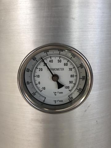 Caldeirão cervejeiro 65 litros com registro e termômetro - Foto 2