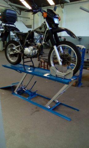Elevador de motos de  fabrica 350 kg - zap 24horas deixe seu número  - Foto 14