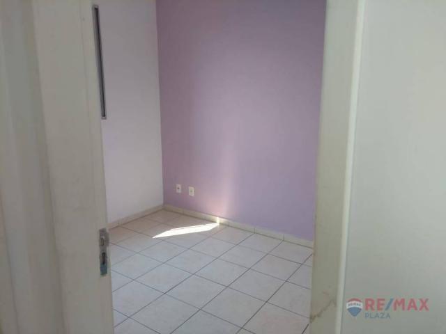 Apartamento com 2 dormitórios para alugar, 45 m² por R$ 650,00/mês - Residencial Ana Célia - Foto 9