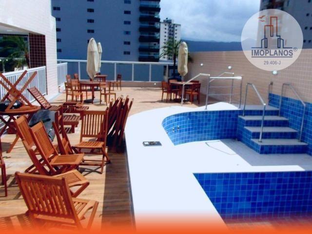 Apartamento com 2 dormitórios à venda, 80 m² por R$ 310.000,00 - Caiçara - Praia Grande/SP - Foto 2
