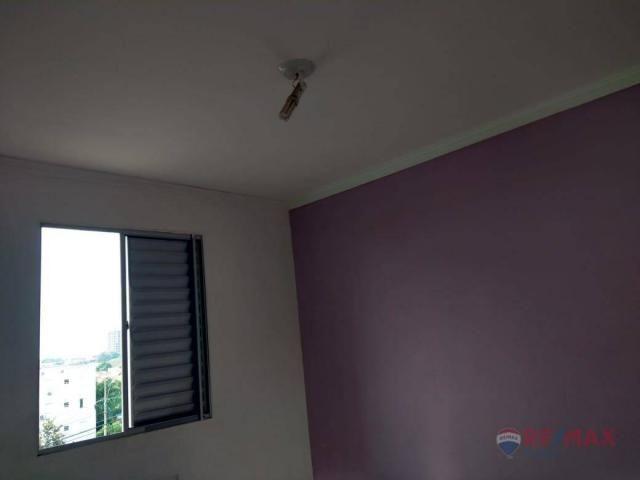 Apartamento com 2 dormitórios para alugar, 45 m² por R$ 650,00/mês - Residencial Ana Célia - Foto 11