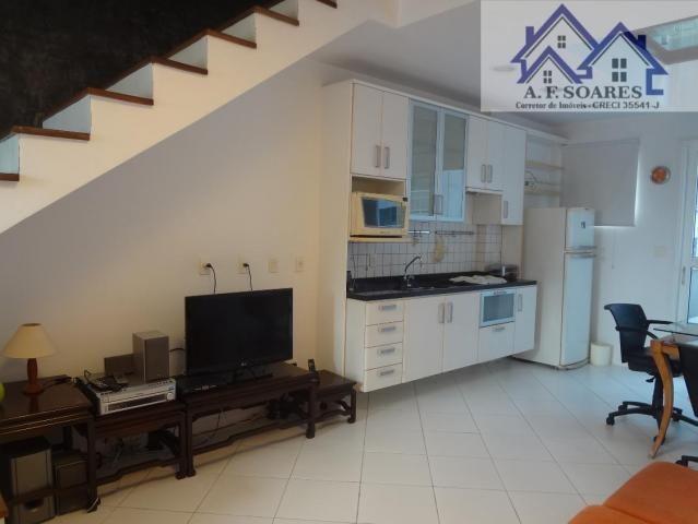 Vendo apartamento tipo loft duplex, com 69 m2, 1 dormitorio, 1 suite, 1 vaga - Foto 2