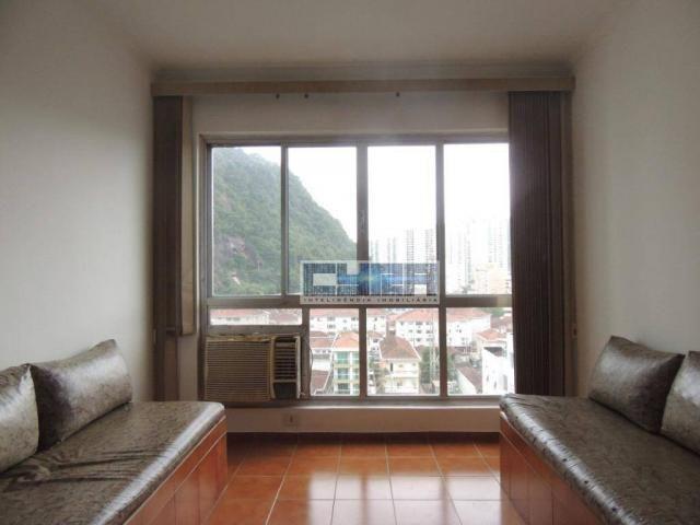 Apartamento AMPLO com 2 dormitórios e dependência em Santos - Foto 2