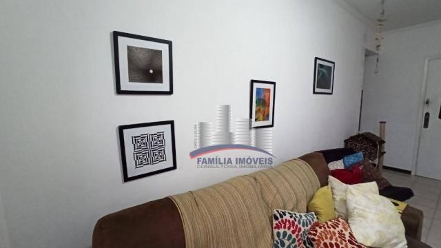 Apartamento com 2 dormitórios à venda, 74 m² por R$ 350.000,00 - Campo Grande - Santos/SP - Foto 4