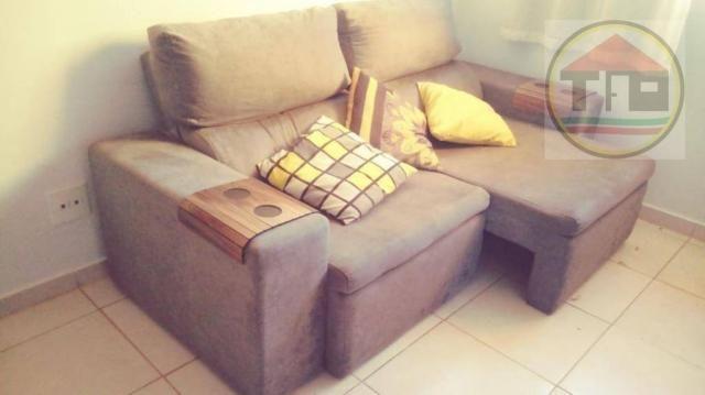 Apartamento com 2 dormitórios à venda, 45 m² por R$ 130.000,00 - Nova Marabá - Marabá/PA - Foto 4
