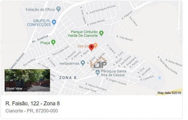 Casa com 3 dormitórios à venda, 126 m² por R$ 119.740,51 - Conjunto Cianorte II - Cianorte - Foto 6
