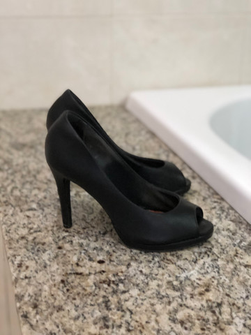 Sapato Peep Toe Bebecê - Foto 2