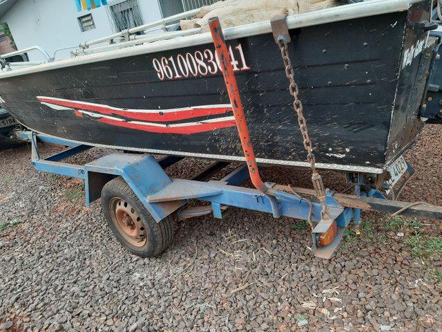 Vendo barco Marajó 16 pés.. - Foto 5