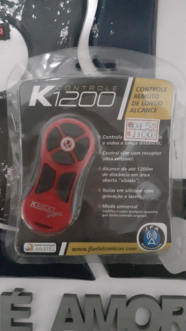 Controle longa distância JFAK1200