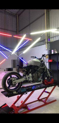 Elevador de motos de  fabrica 350 kg - zap 24horas deixe seu número  - Foto 8