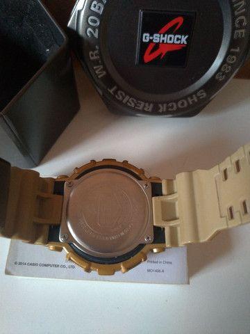 Relógio Casio  G-Shock Dourado  - Foto 3