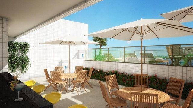 O Amplo 3/4 Varanda Novo/Pronto +DPE Com 109 m² Moderno-Melhor Localização da Jatiuca - Foto 6