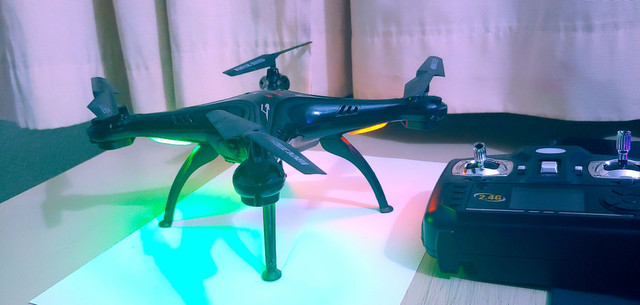 Drone X5SW Wi-Fi FPV Real Time - Syma - Foto 3