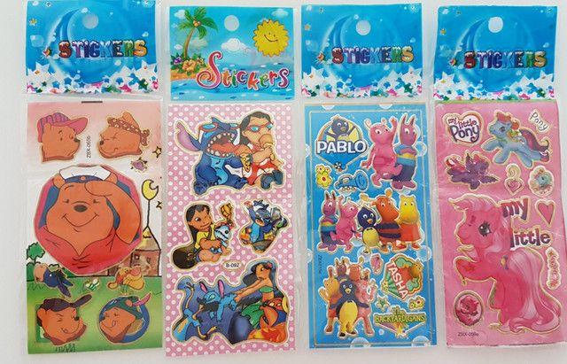 Adesivos Kit 60 cartelas R$18,90 - Foto 3