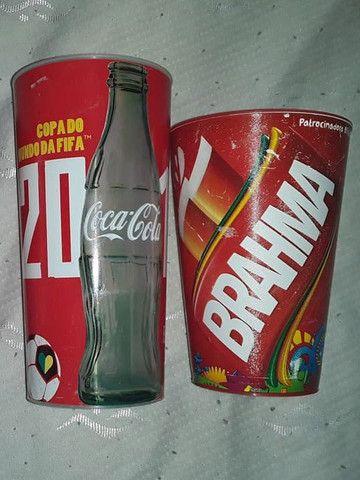 Copos Brahma e Coca Cola copa do mundo 2014