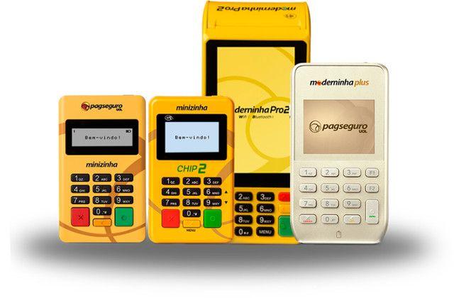 Maquinas de cartão a partir de R$ 20