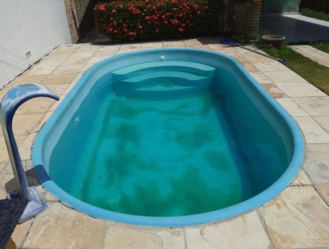 Aluga-se casa no alto com 3/4 com piscina - Foto 9
