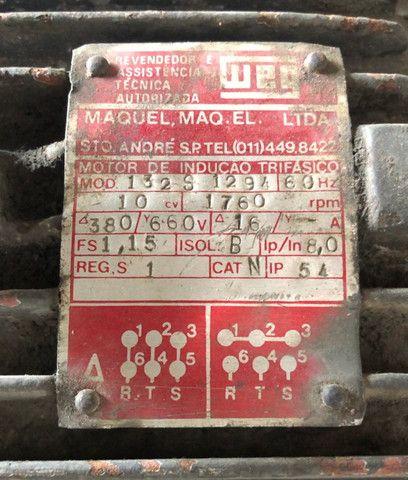 Motor 10cv weg - Foto 2
