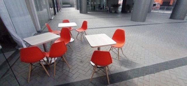 Mesas e cadeiras para lanchonete  - Foto 2