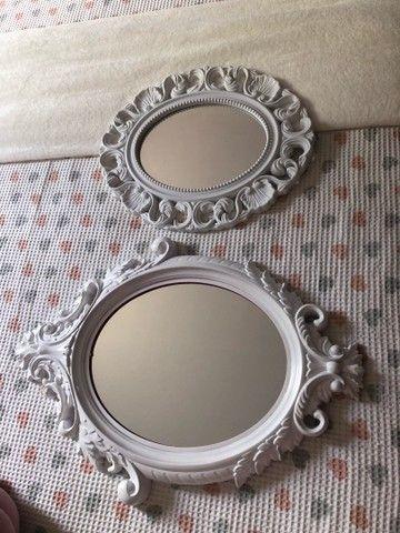 Espelhos decorativos os dois por R$70,00  - Foto 2