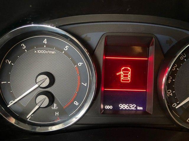 Corolla XEI 2.0 Flex aut. 2017 BLINDADO - Foto 12