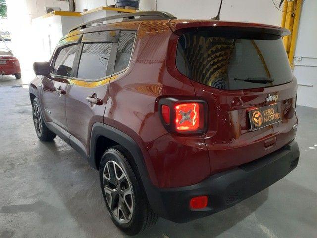 Jeep renegade longitude 1.8 - flex - automatico 2019 - 20.000 km - Foto 5