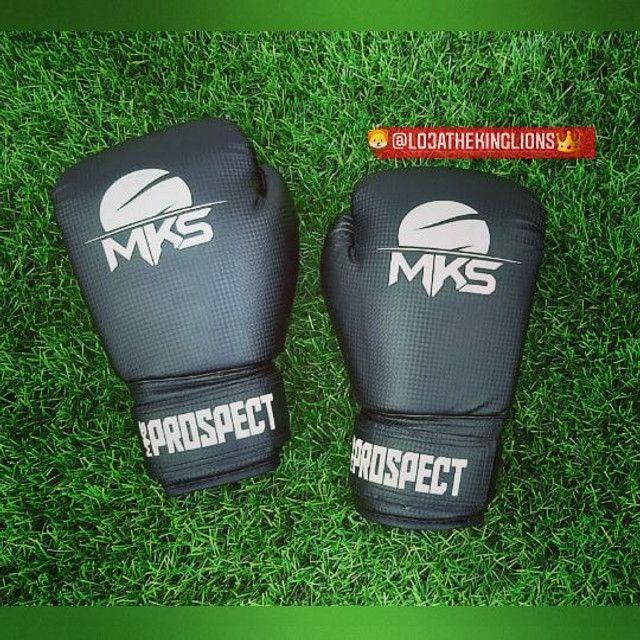 Luvas MKS Muay Thai/Boxe - Foto 3